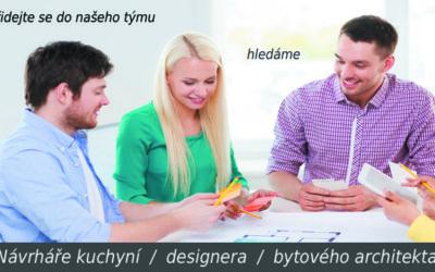 Návrhář kuchyní / prodejce / designer –  Praha 10 Michle